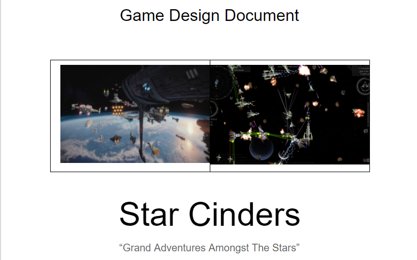 Game Design Document - 12/30 to 1/5 - My Week In GameDev